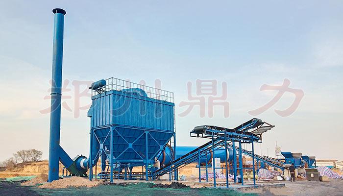 原煤干燥设备现场图